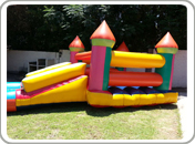 3 in 1 Jumping Castle met slide