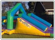 Junior and Senior Slide with Jumping Castle and ponds